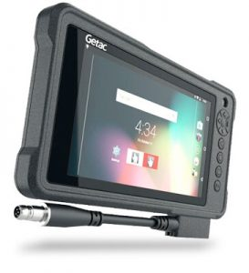 Compact Lightweight Getac Android Laptop MX50