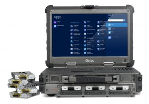"Getac X500 Ultra Rugged 15"" Mobile Server"