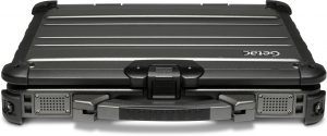 Closed Front Rugged Getac Laptop