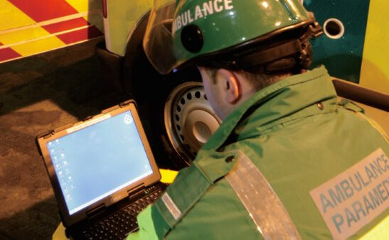 Rugged Computing for Ambulance Paramedic