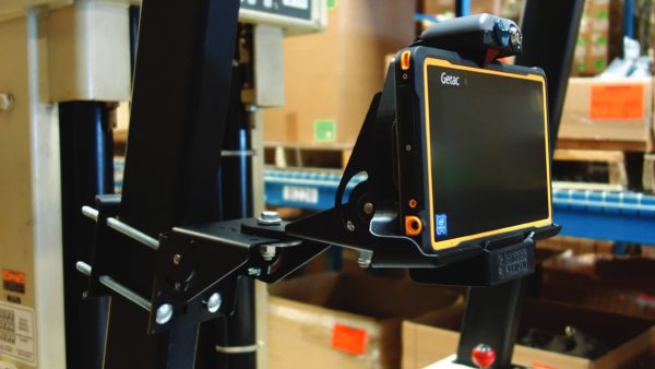 Forklift Mounted Tablet